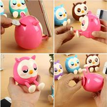 1pc Mini Owl Coin Storage Box Toy Bank Piggy Bank Multifunctional Gifts Home Decorations 3MY23