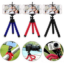 New Mini Portable Flexible Tripod Octopus Stand Gorilla Pod For Camera or Phone Holders(China)