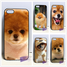 Pomeranian puppy dog 14 fashion cell phone case cover for iphone iphone 4 4s 5 5s 5c SE 6 6s plus 7 plus #LI0683