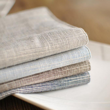 Japanese cotton mat plain stripe cloth cloth Western-style food factory direct can be customized placemat table mat napkin
