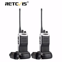 2 pcs Retevis RT7 Radio Walkie Talkie 5W 16CH UHF TOT FM Radio(88-105MHz) Frequency Portable Radio Set Handheld Hf Transceiver