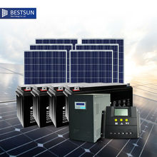 3000w off grid solar system for home free solar energy system photovoltaic system solar collector UPS battery pv solar module(China)