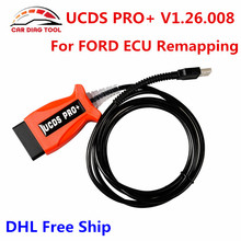 2017 New Released UCDS Pro+ Universal CAN Diagnostic System V1.26.008  UCDS OBD2 Diagnostic Tool For Ford Better Than Ford VCMII