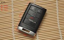 Replacement  Remote car key Case Shell cover  For  Cadillac  2008 2009 2010 2011 2012 2013 Cadillac CTS DTS 4 botton