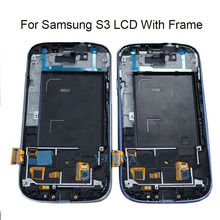 100% Tested Replacement LCD Display for Samsung Galaxy S3 III i9300 i9305 LCD with Touch screen Digitizer Assembly(China)