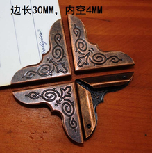 30MM printing red bronze tree angle collar angle pages album of the angle Corner angle within the notebook corner decoration(China)