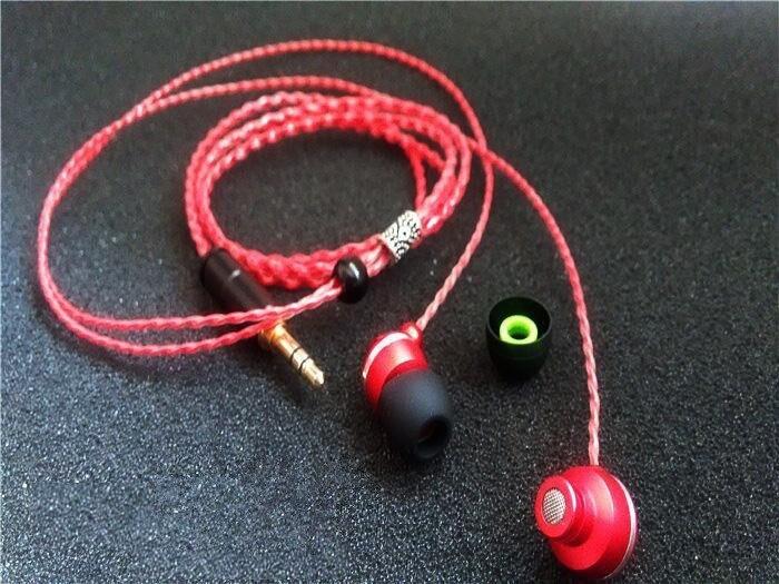 DIY earphone 5n single crystal copper wire hand-woven earphone<br><br>Aliexpress