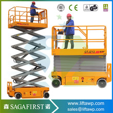 Mobile Working Platform Aerial working platform6m Self Propelled Table Lift Mechanism(China)