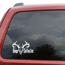 Car Styling For Bone Collector Hunting Car Truck Window Decor Vinyl Decal Sticker