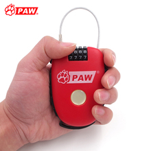 Paw Anti Theft Bike Lock Steel Wire Multi-application Bicycle Password Locks Chain Lock MTB Road Bike Cycling Mini Security Lock(China)