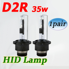 Flytop CHEAPEST 12V 35W D2R AC HID XENON Lamp Car Headlight Single Beam Original Auto Bulb 4300K 6000K FREE SHIPPING(China)