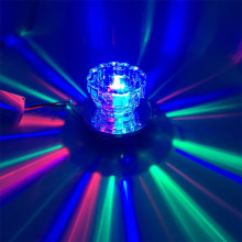 LED Colorful downlight cob 3W led ceiling downlight rainbow LED crystal lamp RGB lamp ceiling spot light Magic color(China)