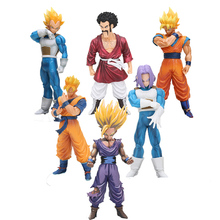 anime Dragon Ball Z Resolution of Soldiers Volume Super Saiyan Grandista son Goku Figure Trunks Hercules Son Gohan Action Figure(China)