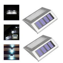 IP44 Waterproof 3LED Security Solar Powered Light PIR Motion Sensor Light Wall Lamp for Path Stairs Garden Outdoor 2/4/8PCS