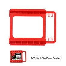 """Надежный 2.5 """"до 3.5"""" SSD на HDD Винт-менее монтажный адаптер кронштейн держатель жесткого диска SSD Bracket(China)"""