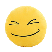 New Novelty Emoji cushion Design Soft Cushion Pillow Gift for Home Car Camping 5