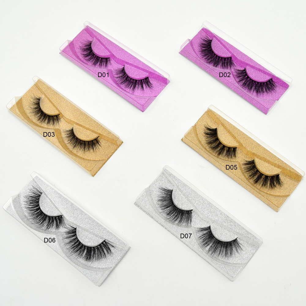 Visofree Mink Lashes 3D Mink False Eyelashes Long Lasting Lashes Natural Mink Eyelashes cruelty free Glitter Packaging 1 Pair(China (Mainland))