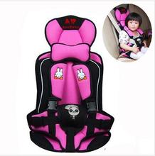 Baby Car Seat Portable Child Car Safety Seat Rabbit Pattern Annbaby Car Cushion, Blue Color, 0-4, Low Price(China)