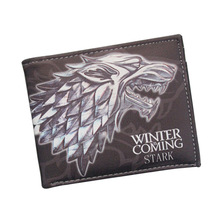 Movie Game of Thrones Short Wallets With Card Holder Men And Women Purse Cartoon Wallet Dollar Price Money Bag Purse 11 style