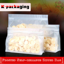 5 pcs 30x23cm Food Grade Frosted Block Bottom Bag Custom Snack Packaging Bags Plastic Bags With Zip Lock