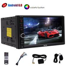 Eincar 7 inch Screen Car stereo Android 6.0 Mashmallow GPS Navigation support 1080P Video Bluetooth External Microphone included