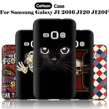 Buy JURCHEN Silicone Case Samsung Galaxy J1 2016 Cover Cartoon TPU Luxury Samsung Galaxy J1 2016 J120F J120 SM-J120F Case 30 for $1.89 in AliExpress store