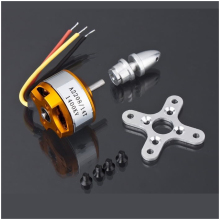 1pcs Brushless DC Electric Motor A2208 KV1100 KV1400 KV2600 for RC Airplanes/Boat/Vehicle Model Glider Plane Kit(China)