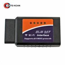Latest Version ELM327 WIFI OBD2 / OBDII Auto Diagnostic Scanner Tool ELM 327 WiFi Diagnostic Tool