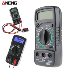 ANENG XL830L Digital Multimeter Portable multi meter AC/DC voltage meter DC Ammeter resistance tester Blue Backlight