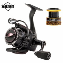 SeaKnight WR 2000H WR 3000H Spinning Fishing Reel 6.2:1 11BB Wheel Carbon Fiber Drag System Carp Fishing Tackle & Spare Spool(China)
