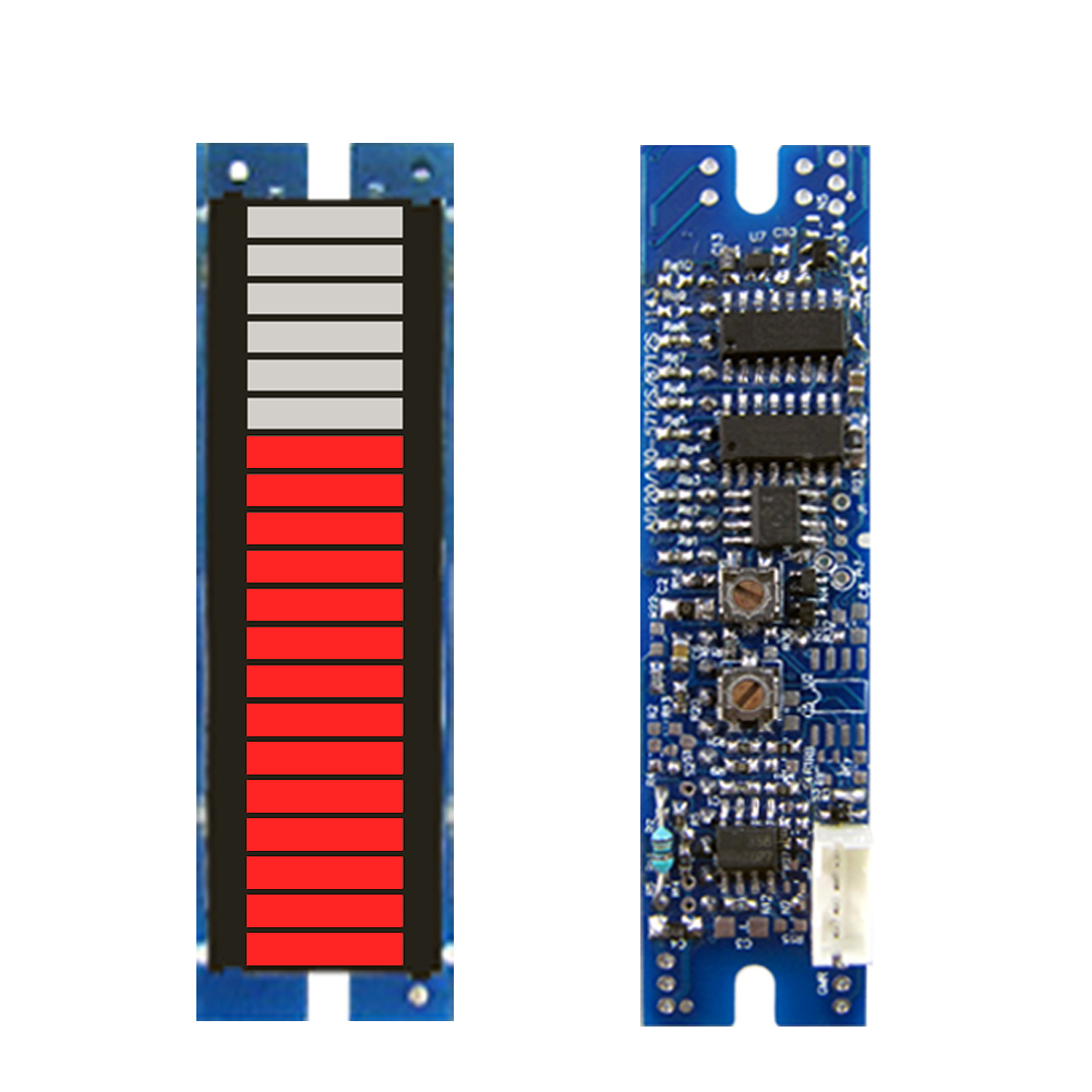 Can measure all kinds of energy, 20 segment analog signals, active led meter module, column display<br>