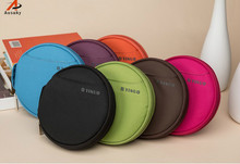 A Ausuky Multi color circular 32 Disc Capacity DVD CD Case for Car Media Storage CD Bag -20