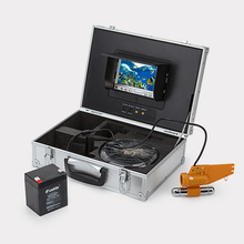 "Fish Finder 7"" TFT LCD Monitor 20M TV Lines Underwater Video Camera System HD(China)"