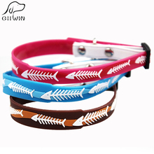 Cat Collar with Bell for Puppy and Kittens Pet Supply Cats Collar for Luxury Pets Products Dog Collars for Chihuahua JW0003(China)