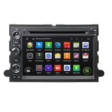 "SAMSUNG 1GB DDR3 RAM Quad Core Android 5.1 HD 7"" car dvd gps for Ford Fusion Explorer F150 Edge Expedition With mirror link,USB"