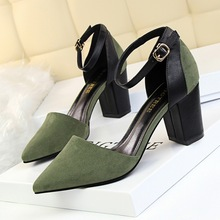 Women Pumps Shoes Low Heel Wedding Summer Pumps Fashion Designer Shoes Women Black Heels Ladies Shoes