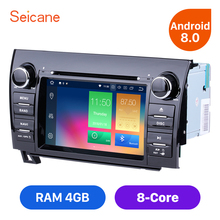 "Seicane Android 8.0 7"" 2Din Car Radio TOYOTA Sequoia Tundra Sequoia Stereo GPS Navigation DVD Wifi Multimedia Player"