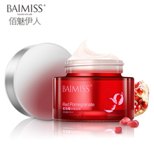 BAIMISS Red Pomegranate Face Cream Moisturizer Skin Care Refreshing Nourishing Anti Aging Wrinkle Facial Cream Acne Treatment(China)