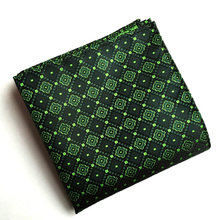 Mantieqingway Handkerchief Pocket Square for Women Fashion Vintage Floral Pocket Towel Male Polyester Silk Business Suits Hanky(China)