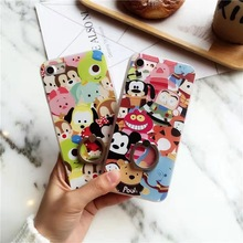 SZYHOME Phone Cases for IPhone 6 6s 7 Plus Case Winnie Pooh Discounted for IPhone 7 Plus Embossment Mobile Phone Cover Capa 2