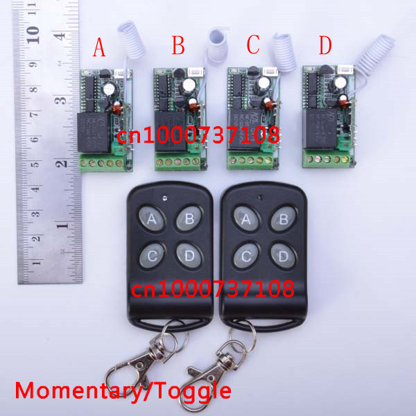 DC12V 10 A mini 1 CH RF Wireless Remote Control System 1Ch for light /lamp Home appliances<br><br>Aliexpress