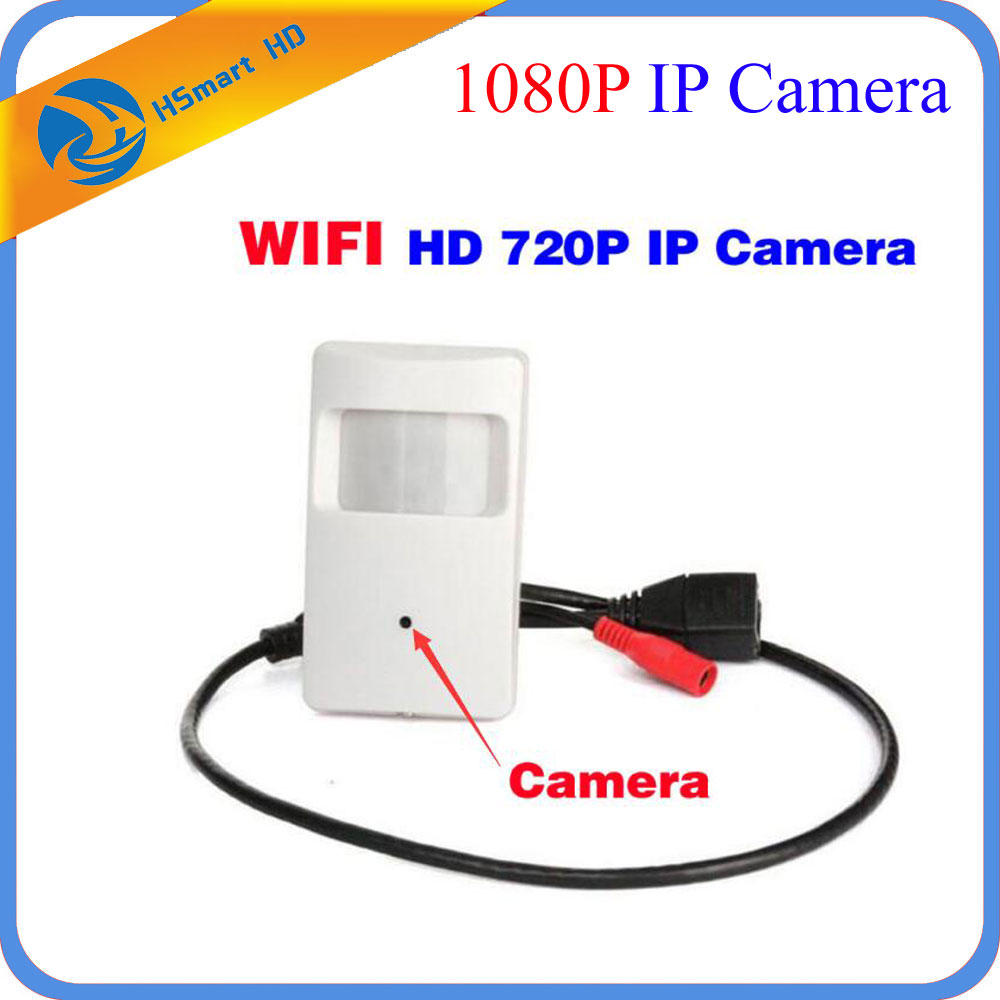 HD 720P WIFI Mini Camera Motion Detector HD PIR STYLE Wireless IP Camera Mini Ip Camera Wifi P2P Security For ONVIF NVR System<br>