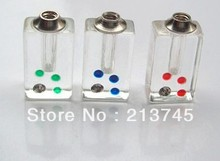 Freeshipping!!Charm The color point perfume pendant vial necklace pendant small mini rice glass bottle pendant Screw cap