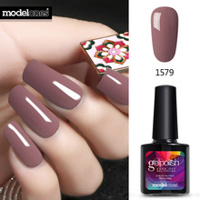Modelones New Coffee Chocolate Series Gel Polish Nail Gel Soak Off UV Gel Polish Choose Any 1 Color Nail Gel(China)