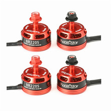 Buy High 4pcs Racerstar Racing Edition 2205 BR2205 2600KV 2-4S Brushless Motor CW/CCW QAV250 ZMR250 260 280 RC Model for $29.99 in AliExpress store