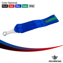 PQY RACING- New TAK Style TOW STRAP/ TOW ROPES HIGH STRENGTH LIGHTWEIGHT WEBBING TOW ROPE PQY- TR91