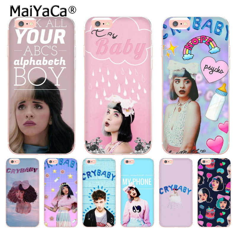 Lilac Bangs Crying Girl iPhone 11 case
