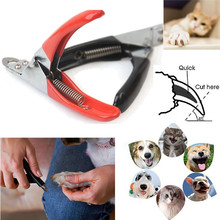 Stainless Steel Dog Cat Pet Nail Toe Claw Clippers Trimmers Scissors Cutter Tool Jul19 Professional Factory price Drop Shipping(China)