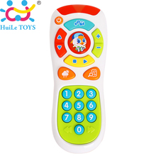 Baby Toys Music Mobile Phone TV Remote Control Early Educational Toys Electric Count Remote Learning Machine Birthday Gifts