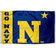 US Navy Star College Large Outdoor Flag 3ft x 5ft Football Hockey College USA Flag(China)